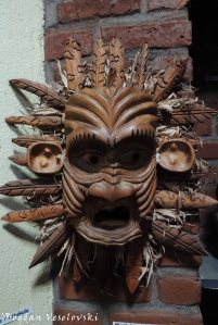 Mask in Kungoni Art Gallery