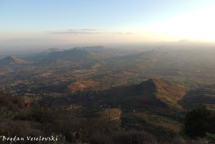 Zomba seen from the plateau