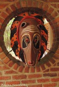 Gule wamkulu mask - Dzimwe (The hyena)