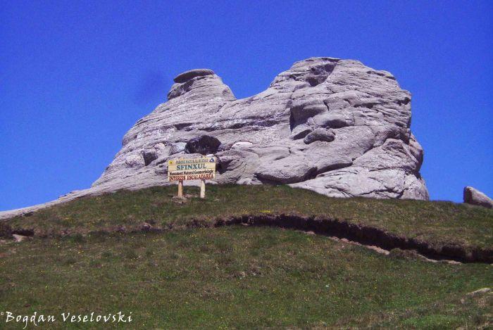 Sfinxul (The Sphinx - back view)