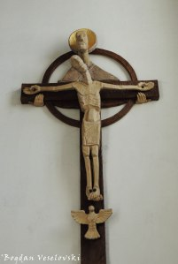 St. Andrew's Church - crucifix (Andräkirche)