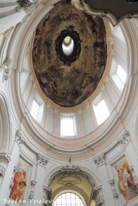 Church of the Holy Trinity - dome (Dreifaltigkeitskirche)