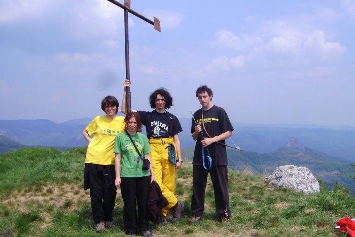 On the top - Piatra Craivii