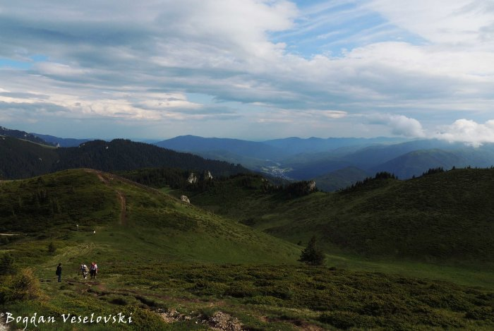 Ciucas landscape