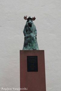 The Critical Moose, symbol of the New Frankfurt School (Die Neue Frankfurter Schule)