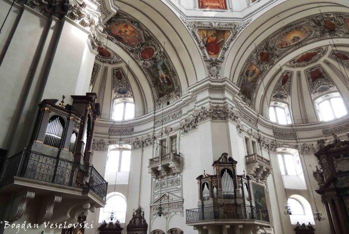 Salzburg Cathedral - interior (Salzburger Dom)