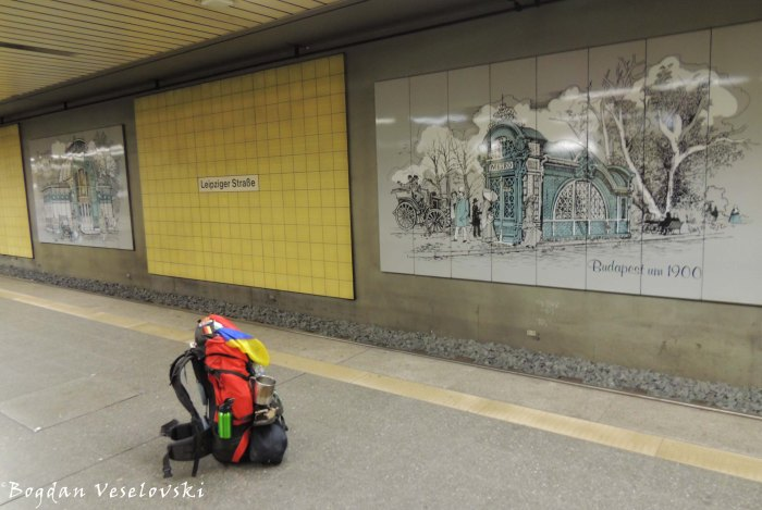 Leipziger Straße subway station