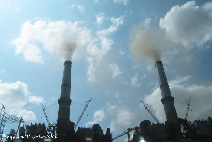 Pollution - Rovinari power station