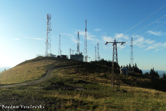 Iași Telecommunication Station on Rarău summit