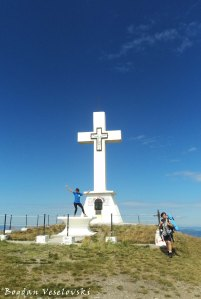 Cross on Giumalău summit