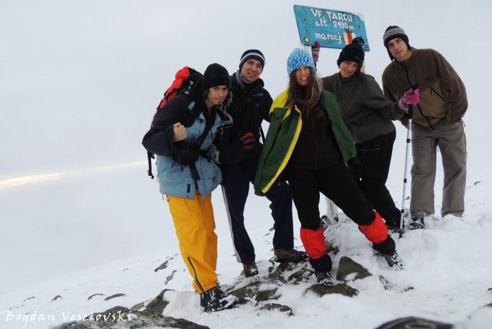 Țarcu Peak (2190 m)