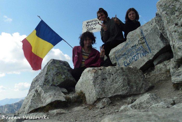 Peleaga Peak (2509 m)