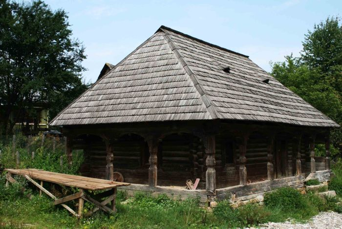 Traditional house in Maramureș