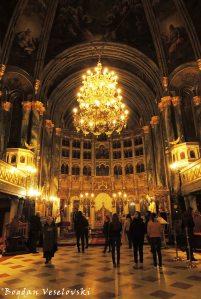 Biserica Sfantul Spiridon Nou, Bucharest (Saint Spyridon the New Church) - interior