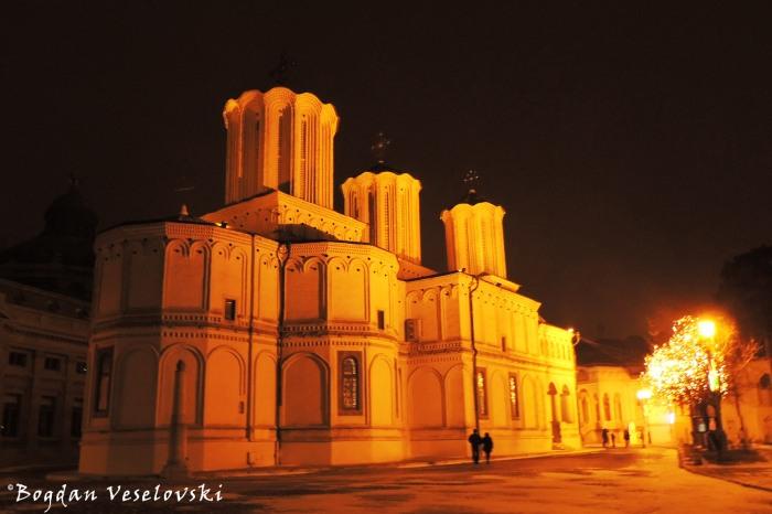 Catedrala Patriarhală din București (Romanian Patriarchal Cathedral) - Night