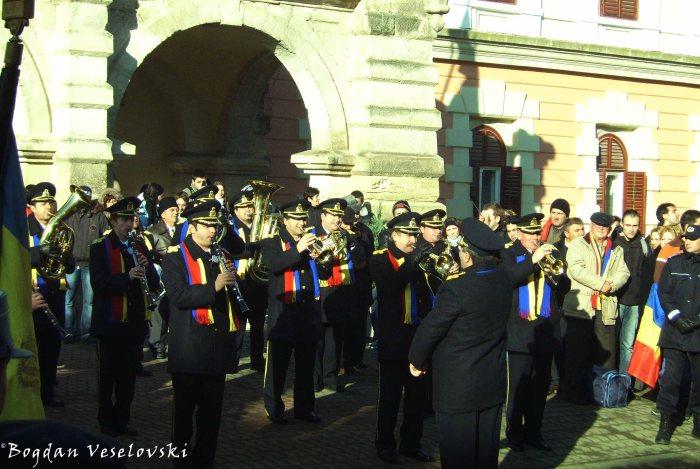 Military Orchestra in Alba Iulia