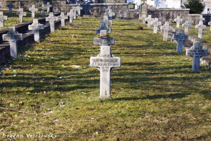 Heroes' Cemetery, Deva