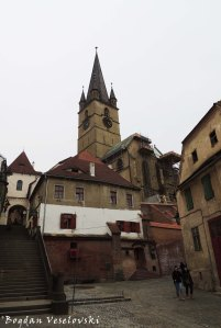 Stairs' Tower & Lutheran Cathedral
