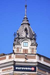 Former Orient Hotel's Clock in Unirii Square