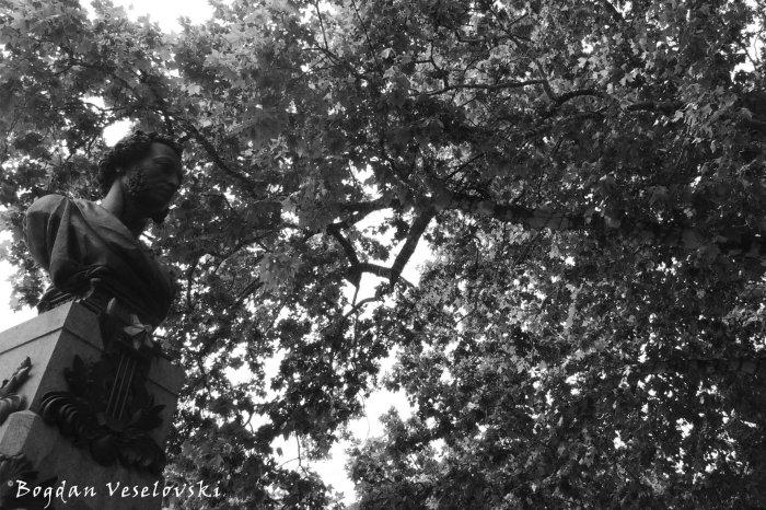 Alexander Pushkin monument (Бюст Олександра Пушкіна в Одесі)