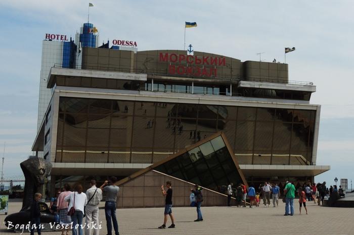 Maritime passenger terminal, Odessa(Одесский Морской Вокзал)