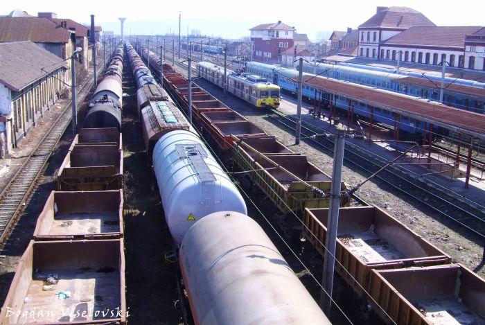 Simeria railway station - an important railway hub