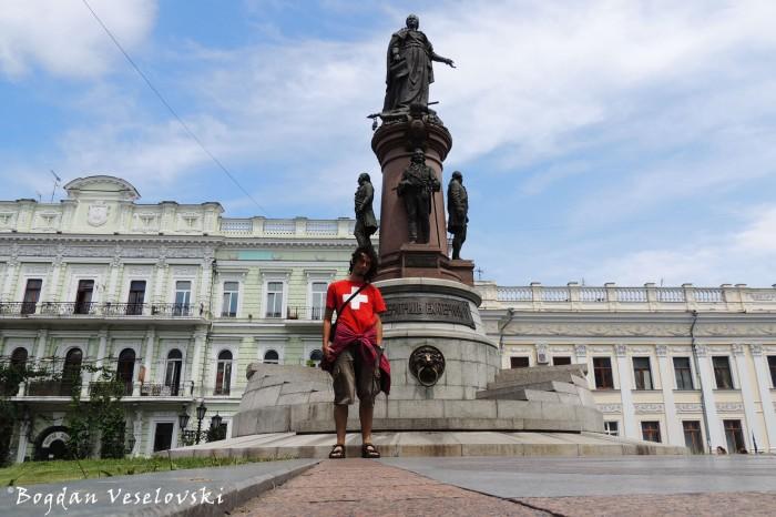 Statue of Catherine the Great, Odessa (Пам'ятник імператриці Катерині II Великої)