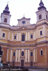 Catedrala Romano-Catolică 'Inaltarea Fecioarei Maria', Oradea (Roman Catholic Cathedral 'The Assumption of the Blessed Virgin Mary', Oradea - the biggest baroque cathedral in Romania)