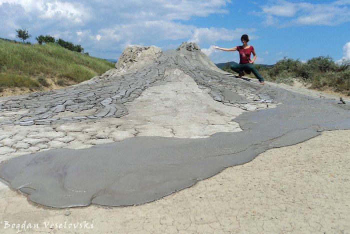 Mud lava
