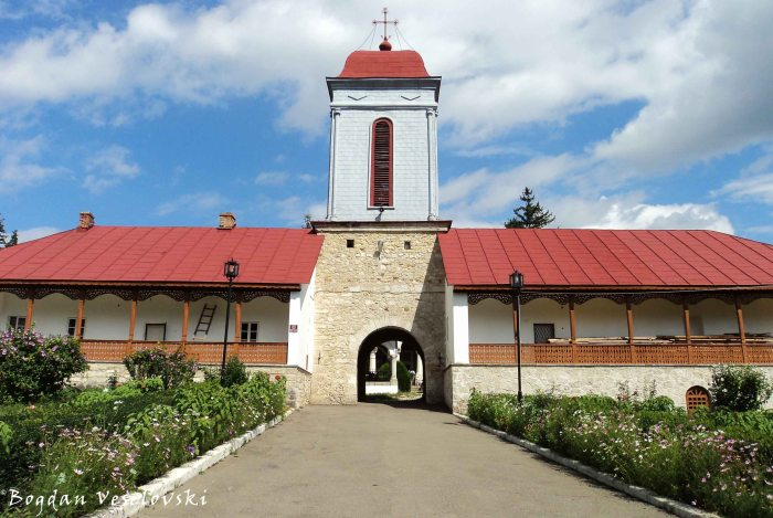 Entrance of Ciolanu Monastery