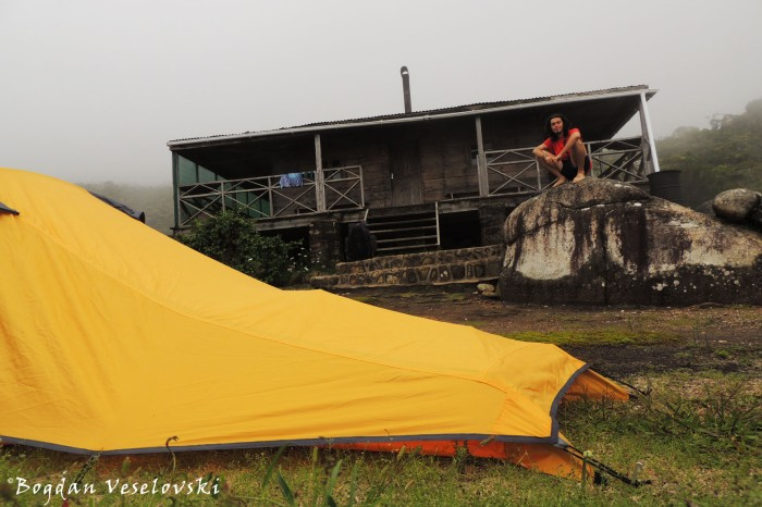 Camping at Chisepo Hut