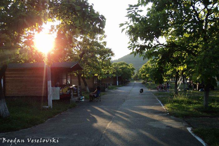 Camping in Sărata Monteoru
