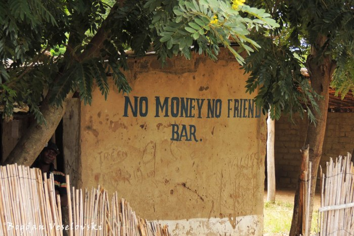 No money, no friend bar