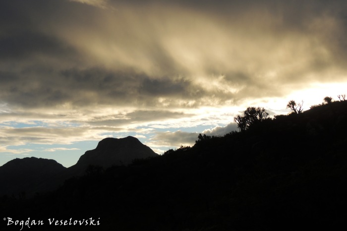 Mulanje at evening
