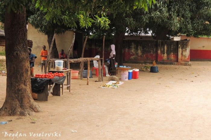 Market in Likoma