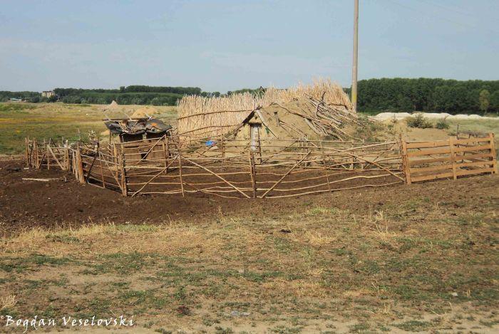 Dobrudjan yurt sheepfold