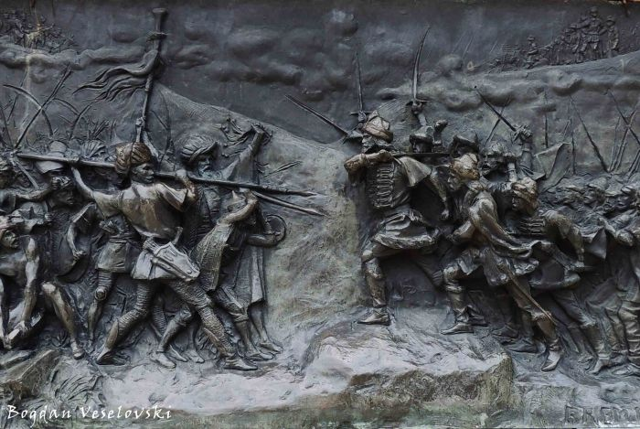 Against the Ottomans (detail on Stephen the Great statue)