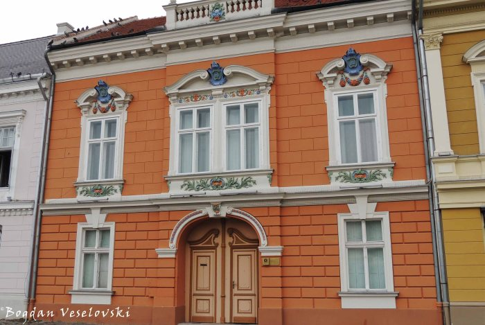 Canonists' House in Unirii Square, Timișoara