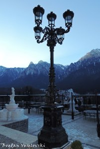 Cantacuzino Castle - Terrace