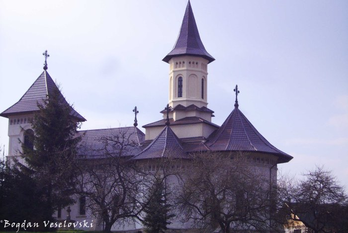Church of Mănăstirea Humorului village
