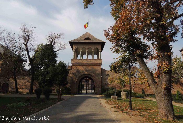 Entrance of Mogoșoaia Palace