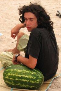 My melon!