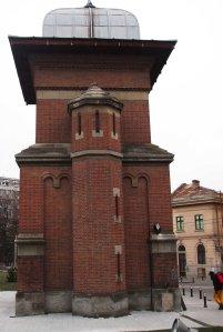 Turnul de intrare al Bisericii 'Sfanta Treime, Craiova (Entrance tower of Holy Trinity Church, Craiova)