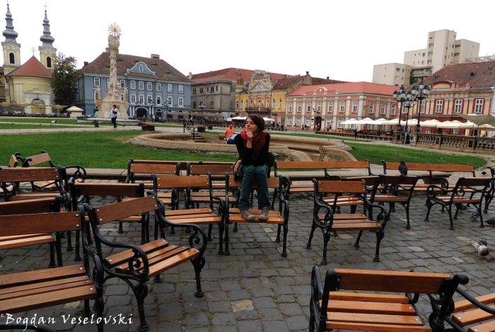 Unirii Square, Timișoara