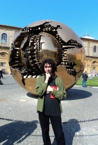 Sphere Within Sphere (Sfera con sfera) by Arnaldo Pomodoro