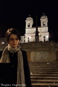 Piazza di Spagna & The church of the Santissima Trinità dei Monti