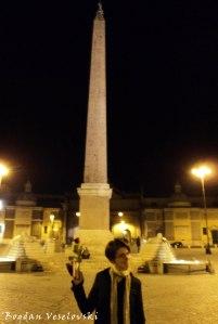 Piazza di Spagna - Column of the Immaculate Conception (Colonna della Immacolata)