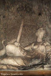 Quattro Fontane - The goddess Juno