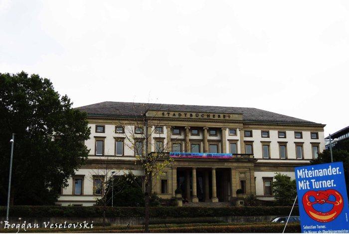 Wilhelmspalais - Stadtbücherei Stuttgart central library