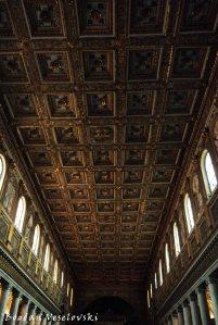 Interior of the Basilica di Santa Maria Maggiore